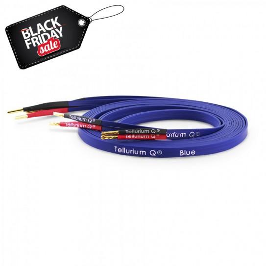 Black Friday sales Tellurium Q Blue Speaker Cable 2,5m