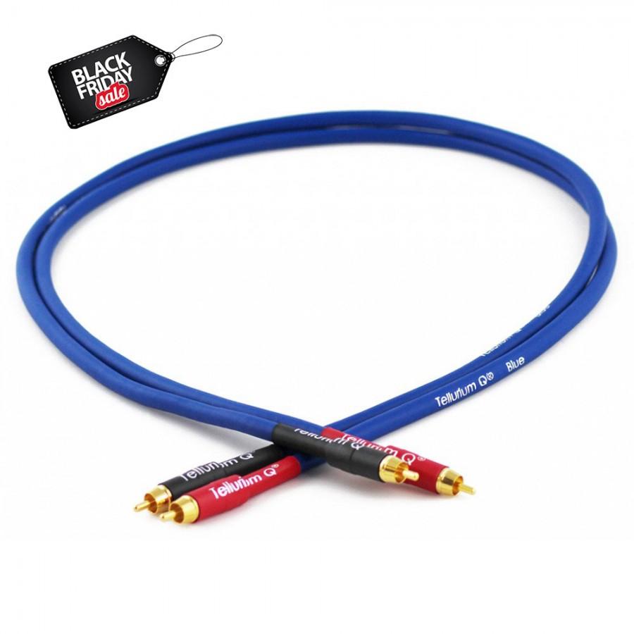 Black Friday sales Tellurium Q Blue RCA cable