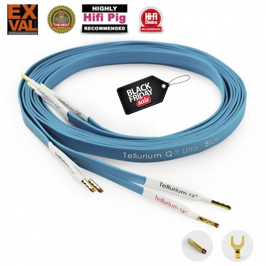 Black Friday sales Tellurium Q Ultra Blue Speaker Cable