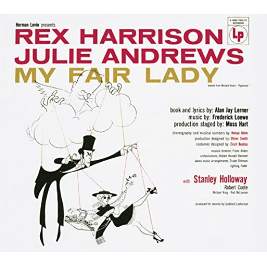 Rex Harrison, Julie Andrews ‎– My Fair Lady