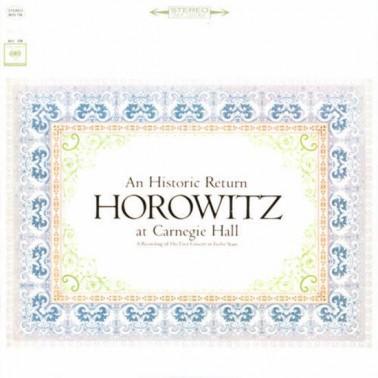an Historic Return * Vladimir Horowitz at Carnegie Hall