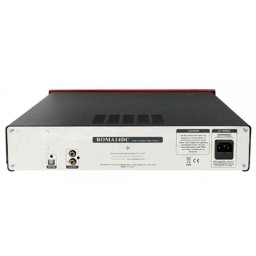 Synthesis Roma 14DC Tube Compact Disc Player