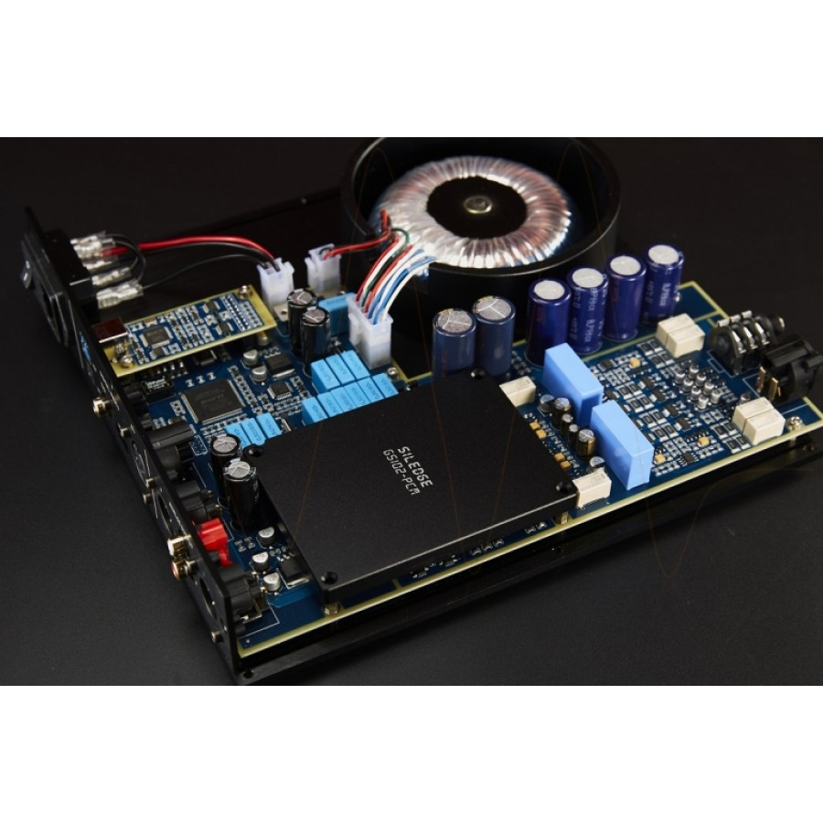 Holo Audio – CYAN - Balanced R2R Ladder DAC / Pre / Headphone Amplifier (DSD, DxD, XMOS USB)
