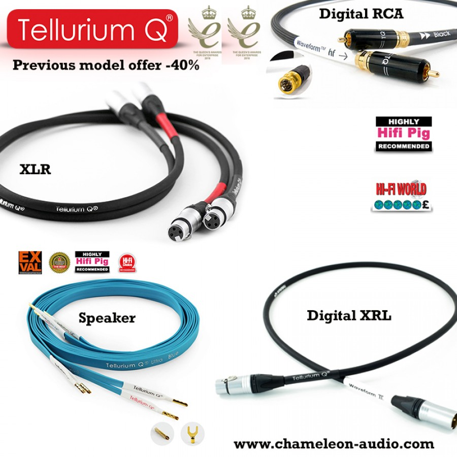 Tellurium Q previous model offer
