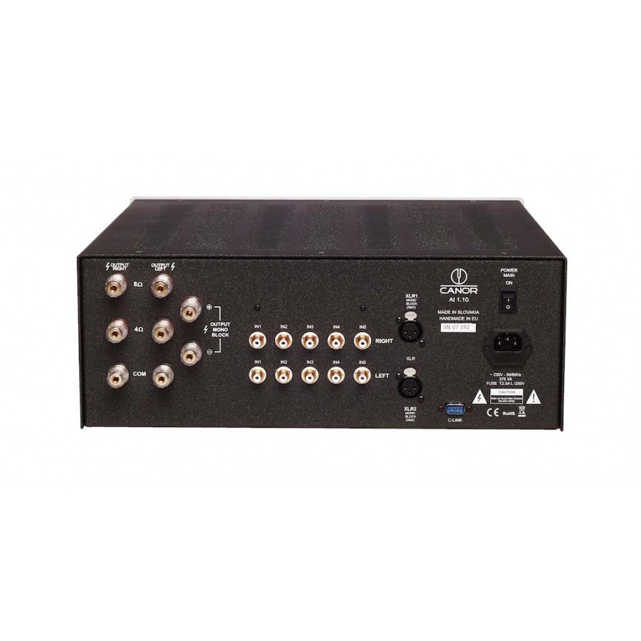 Canor Audio AI 1.10 integrated tube amplifier