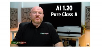 AI 1.20 REVIEW Pure CLASS A HIFI Mono Block Amplifier Audio Glory