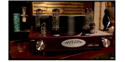 Fezz Audio Tube Amp unboxing & review | Vinyl Rewind