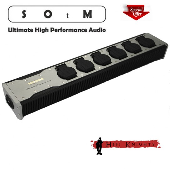 SOtM mT-1000 power bar + Power cable 1m