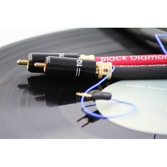 Tellurium Q Black Diamond Phono RCA Cable