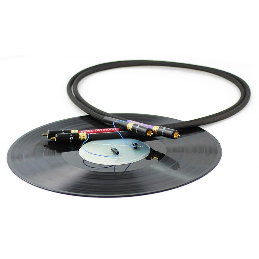 Tellurium Q Black Diamond Phono RCA Cable 1m