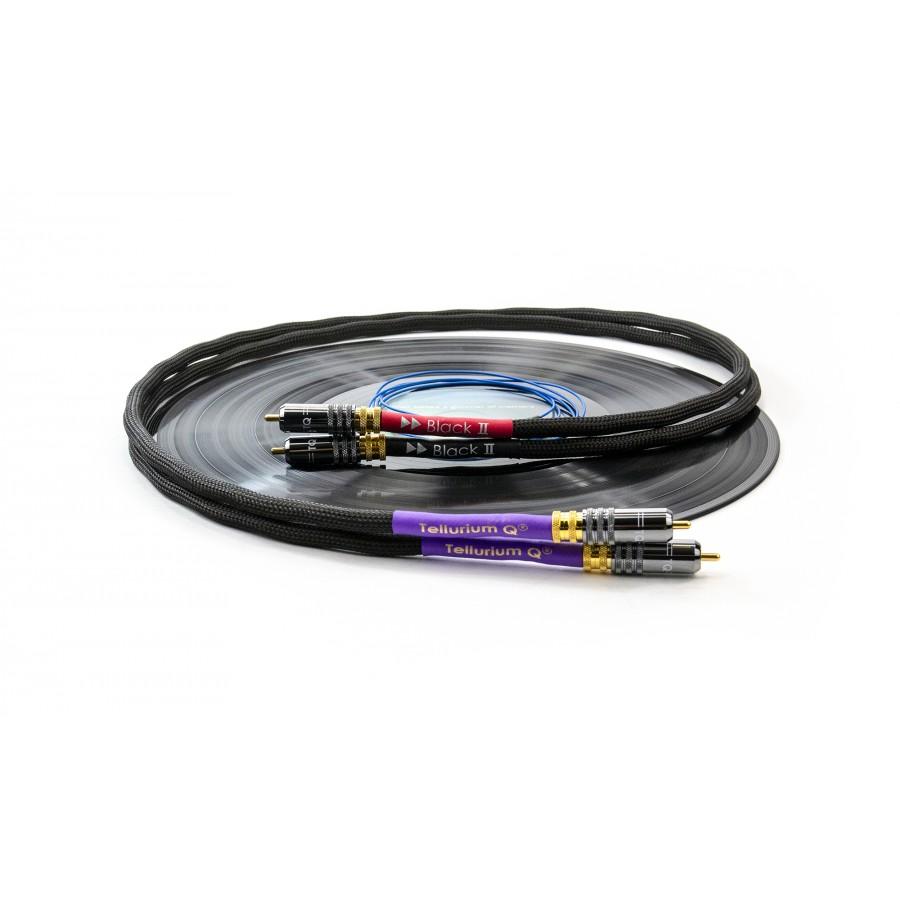 Tellurium Q Black II Phono RCA Cable