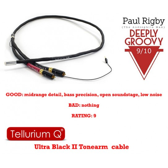 Ultra Black II Phono RCA to DIN Cable