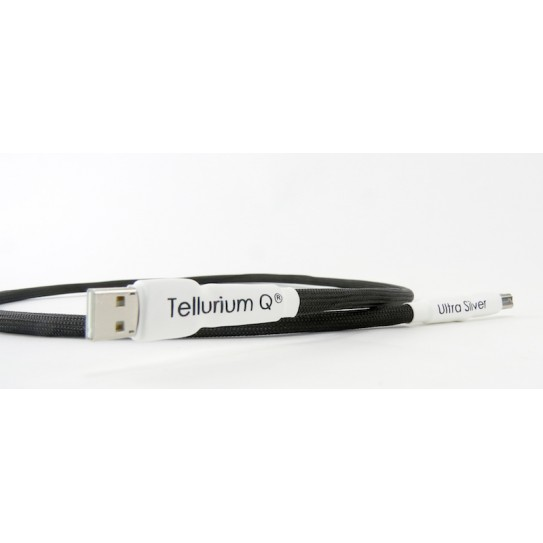 Tellurium Q Ultra Silver Waveform™ hf Digital USB