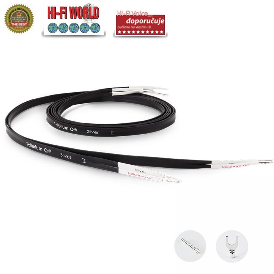 Tellurium Q Silver II Speaker Cable