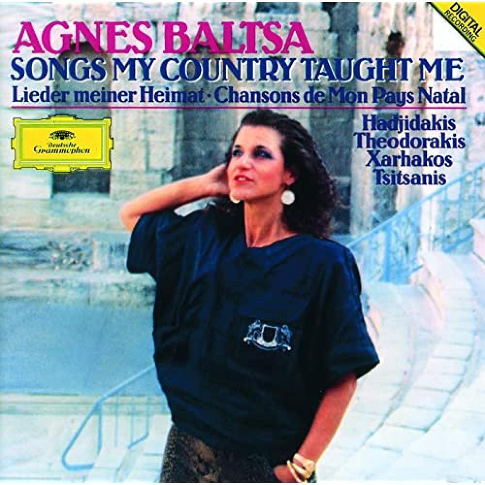 Analogphonic Agnes Baltsa Songs My Country Taught Me