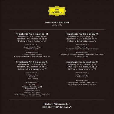 Analogphonic Brahms - The Complete Symphonies