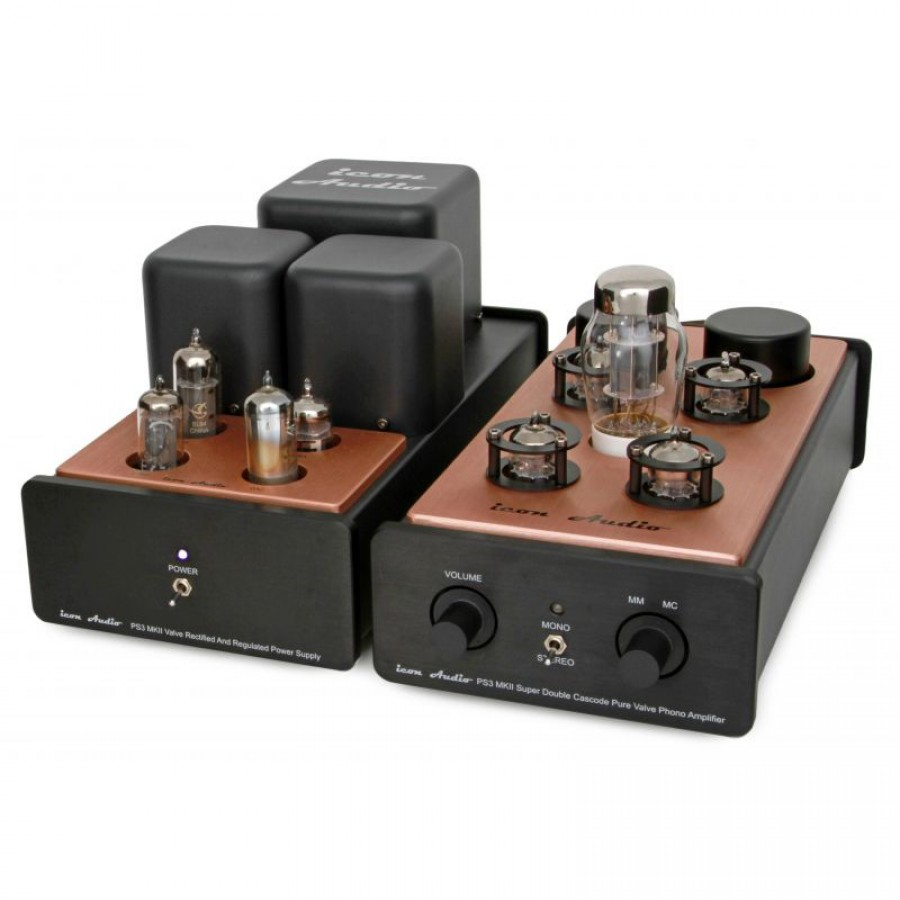 Icon Audio PS3 MkII pure valve Phono Pre-Amplifier