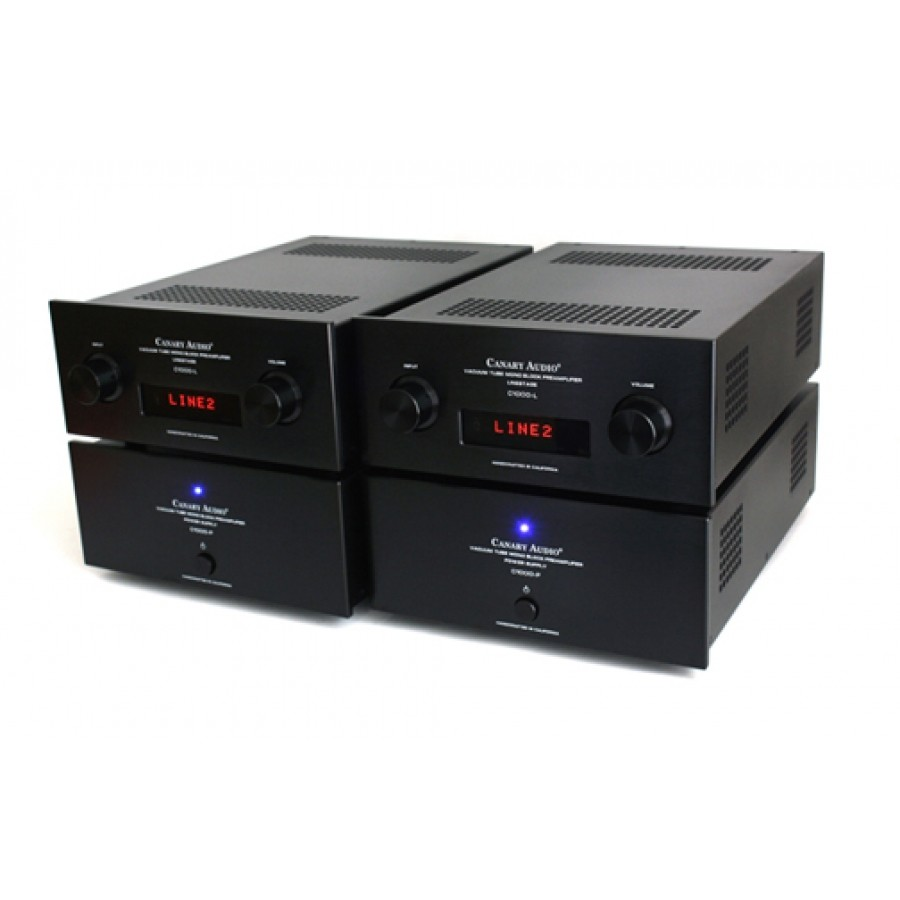 Canary C1000 Dual Mono Preamplifier