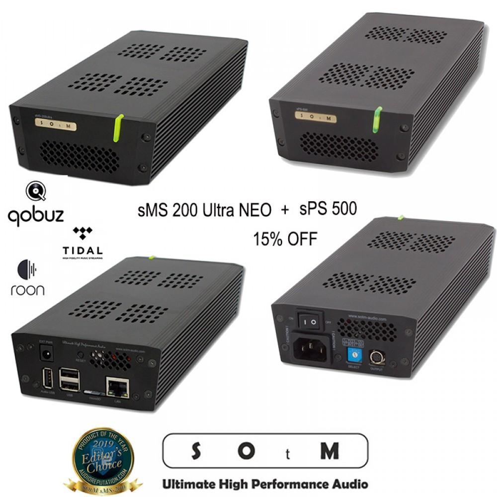 SOtM sMS-200 ULTRA NEO + sPS 500 COMBO
