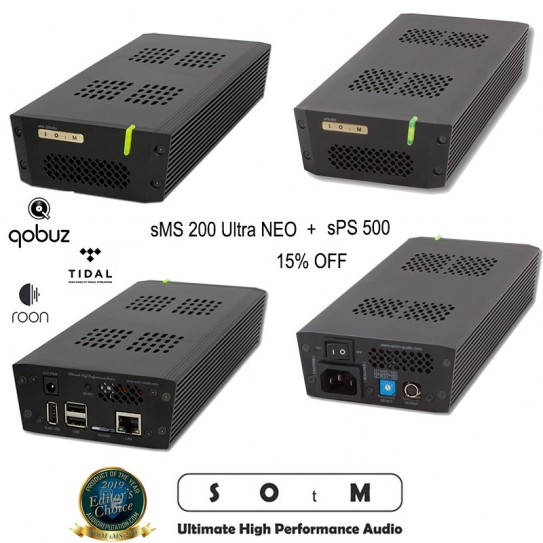 SOtM sMS-200 ULTRA NEO + sPS 500 COMBO