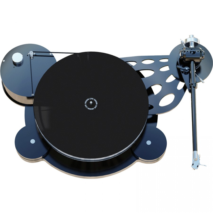 "12"" Tonearm mounting exchange for standard sub-chassis (Aurora and Calypso)"